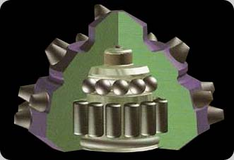 Cross Section of a Standard Roller Bearing Cone